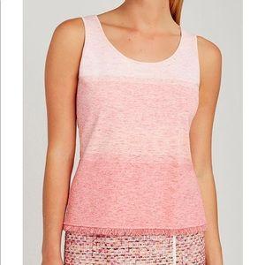 NEW CARLISLE knit MELANGE Shell Cami Tank Top